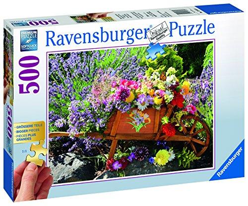 Ravensburger-Puzzle-13685-Blumenarrangement-Erwachsenenpuzzle