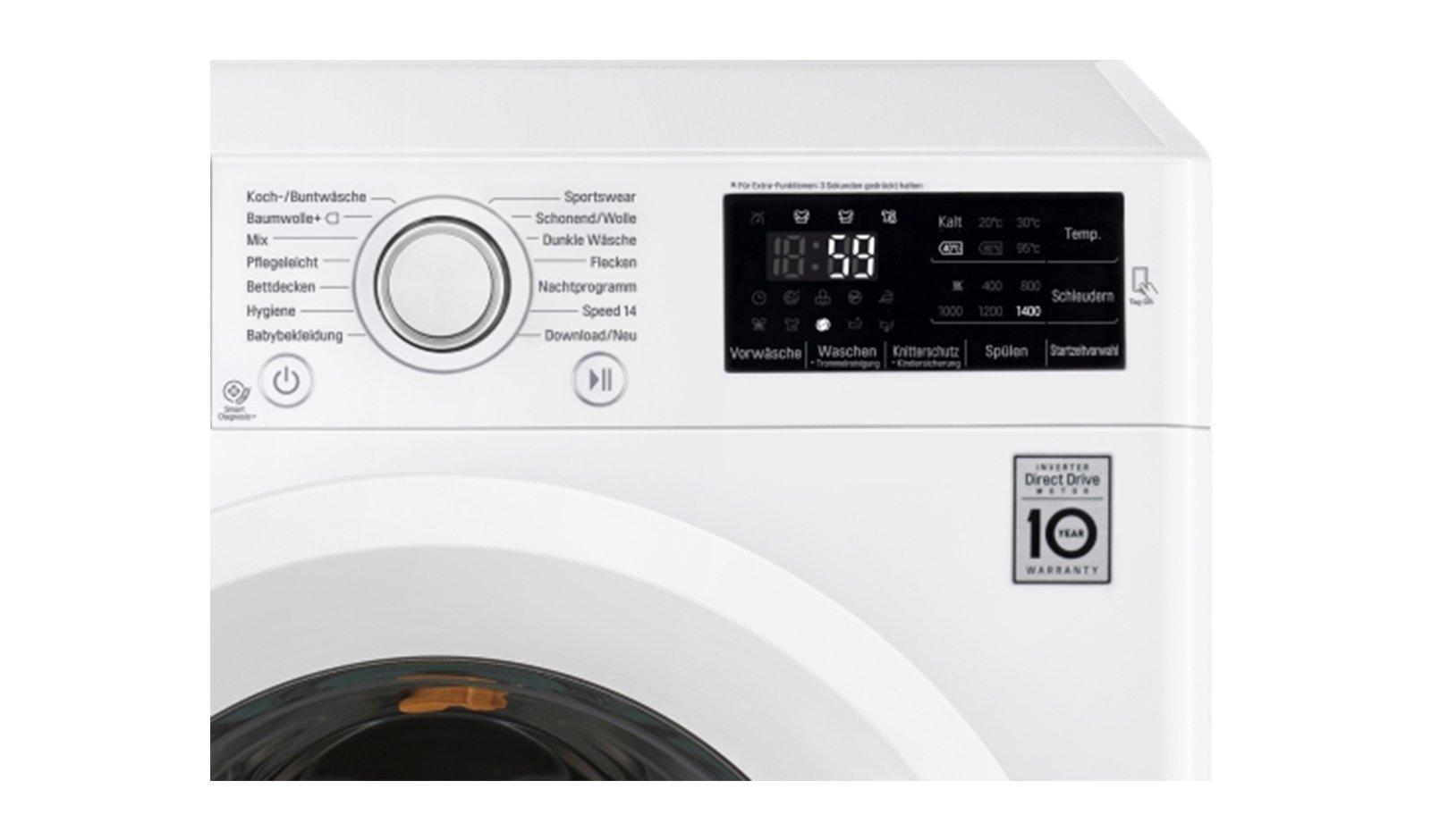 LG-Electronics-F-14U2-V9KG-Waschvollautomat-A-9kg-1400-UpM-Digitales-Touchdisplay-mit-Restzeitanzeige-und-Startzeitvorwahl-wei