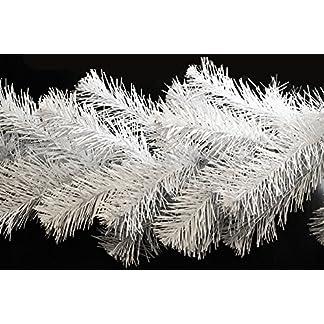 27m-Tannengirlande–ca-20-40cm-Wei-Innen-Weihnachtsdeko-knstliche-Weihnachtsgirlande-Indoor