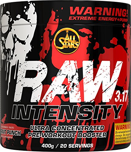 All Stars Raw Intensity 3.17, Fruit Punch, 1er Pack (1 x 400 g)