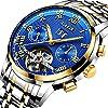 LIGE-Herren-Uhren-Mode-Wasserdichte-Automatische-Mechanischeuhr-Edelstahl-9887D-Blaues