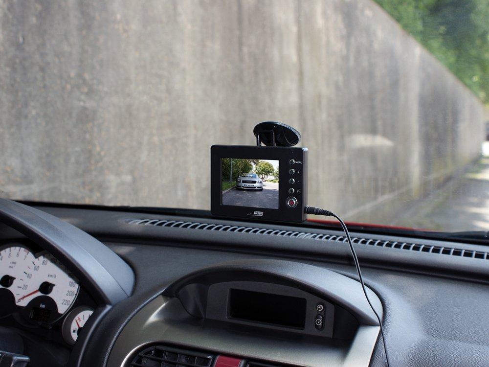 ProUser-16231-Rckfahrkamera-Set-kabellos-35-Monitor-mit-2-Kameras