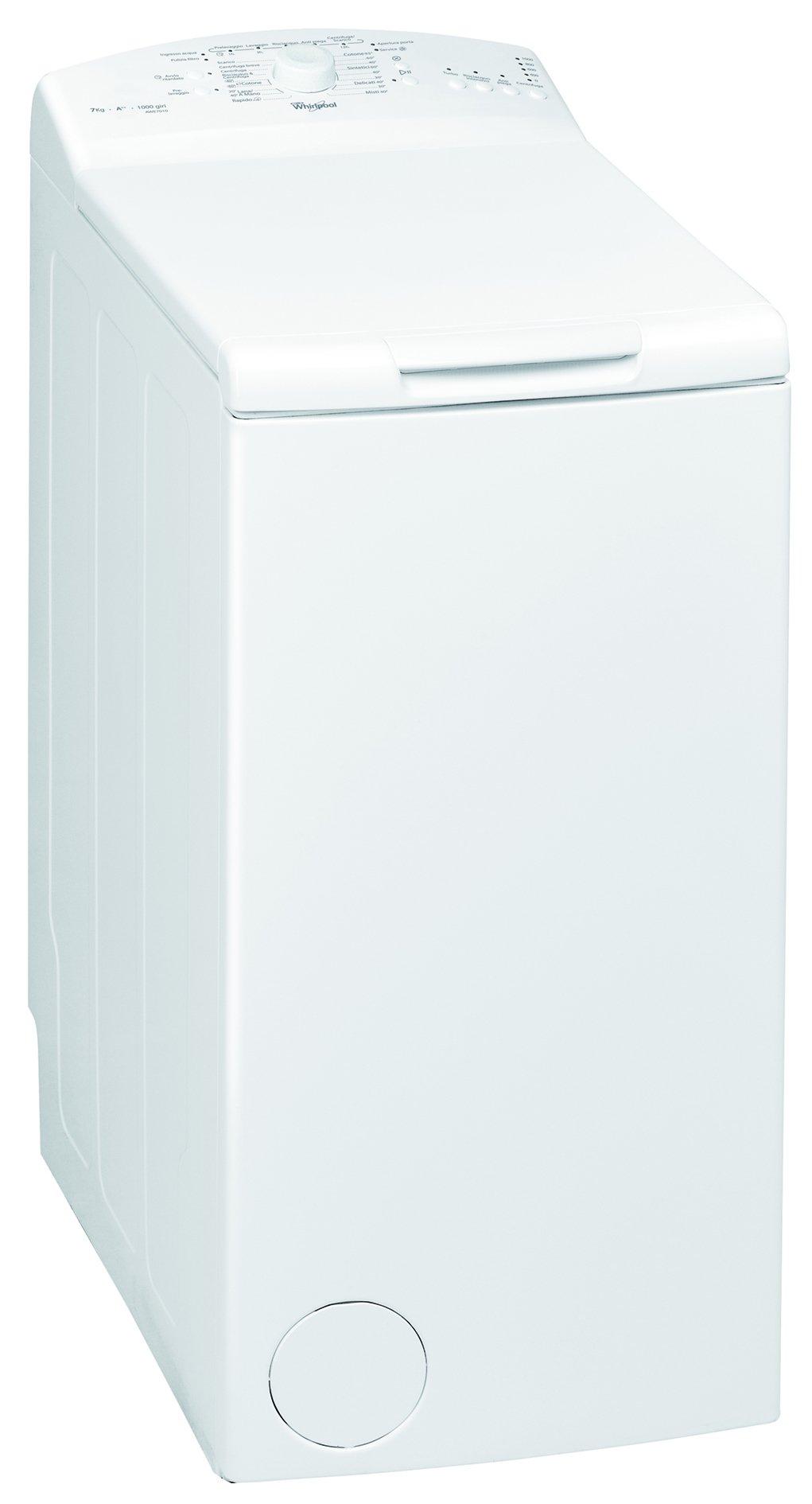 Whirlpool-Awe-7010-autonome-Ladekabel-Premium-7-kg-1000trmin-A-wei-Waschmaschine–Waschmaschinen-Ladekabel-autonome-Premium-wei-Knpfe-drehbar-oben-Wei