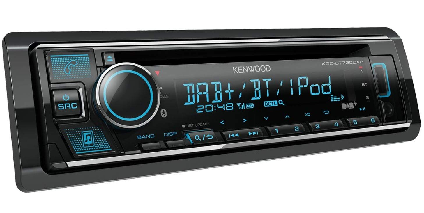 Kenwood-KDC-BT730DAB-CD-Receiver-mit-integriertem-Bluetooth-DAB-Radio