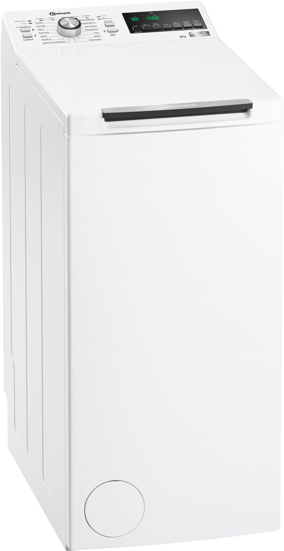Bauknecht-WAT-Prime-652-Z-Waschmaschine-TLA-122-kWhJahr-1200-UpM-6-kgExtrem-leise-mit-48-dbZEN-Direktantriebwei