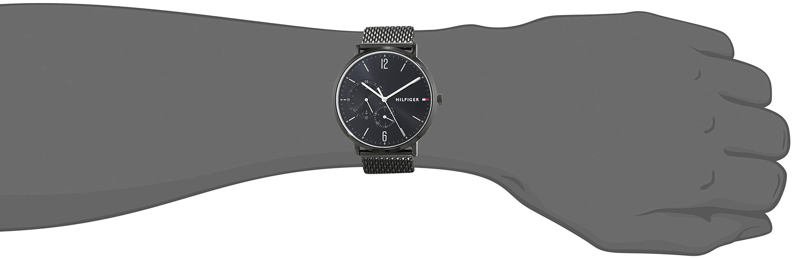 Tommy-Hilfiger-Herren-Multi-Zifferblatt-Quarz-Uhr-mit-Edelstahl-Armband-1791507