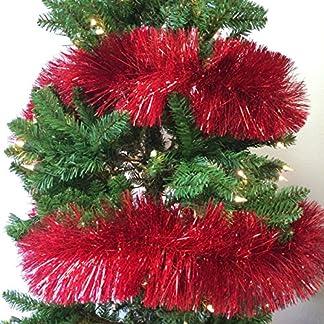 Weihnachten-Eleganz-9-ft-Weihnachten-Lametta-Girlande-Classic-Weihnachtsschmuck