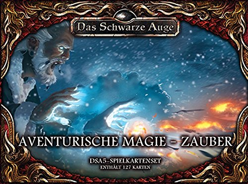 Spielkartenset-Aventurische-Magie–Zauber-Das-Schwarze-Auge-Zubehr