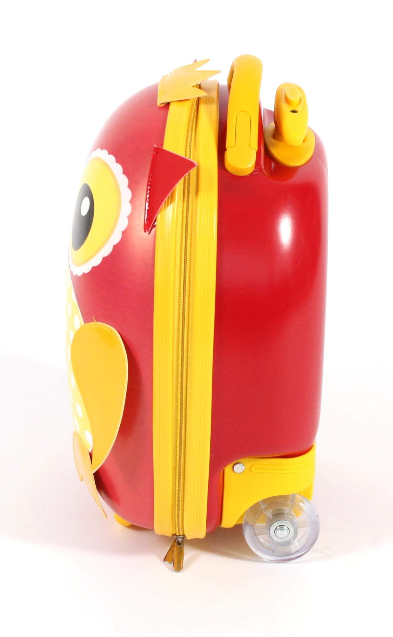 Bayer-Chic-2000-Kinder-Trolley-Hartschale-Eule-Kindergepck-40-cm-12-Liter-Eule