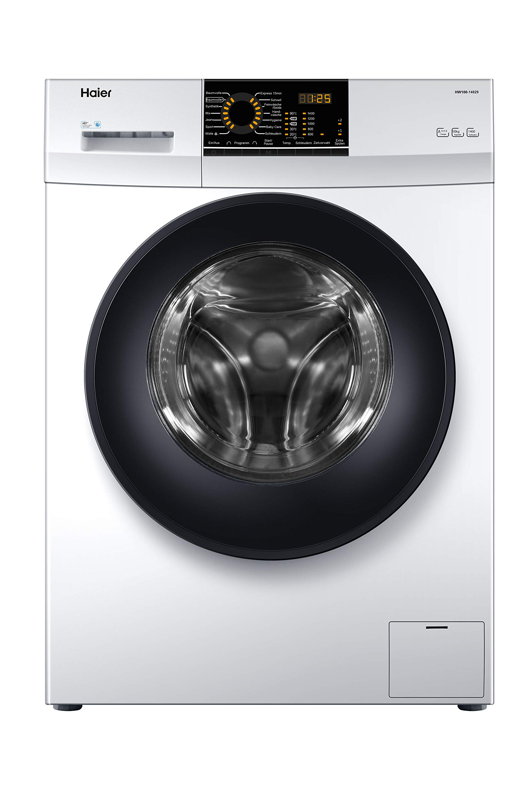 Haier-HW100-14829-Waschmaschine-Frontlader-10-kgA-1400-UpMABTAquaProtect
