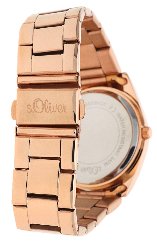 sOliver-Damen-Armbanduhr-Analog-Quarz-IP-Ros-SO-15141-MQR