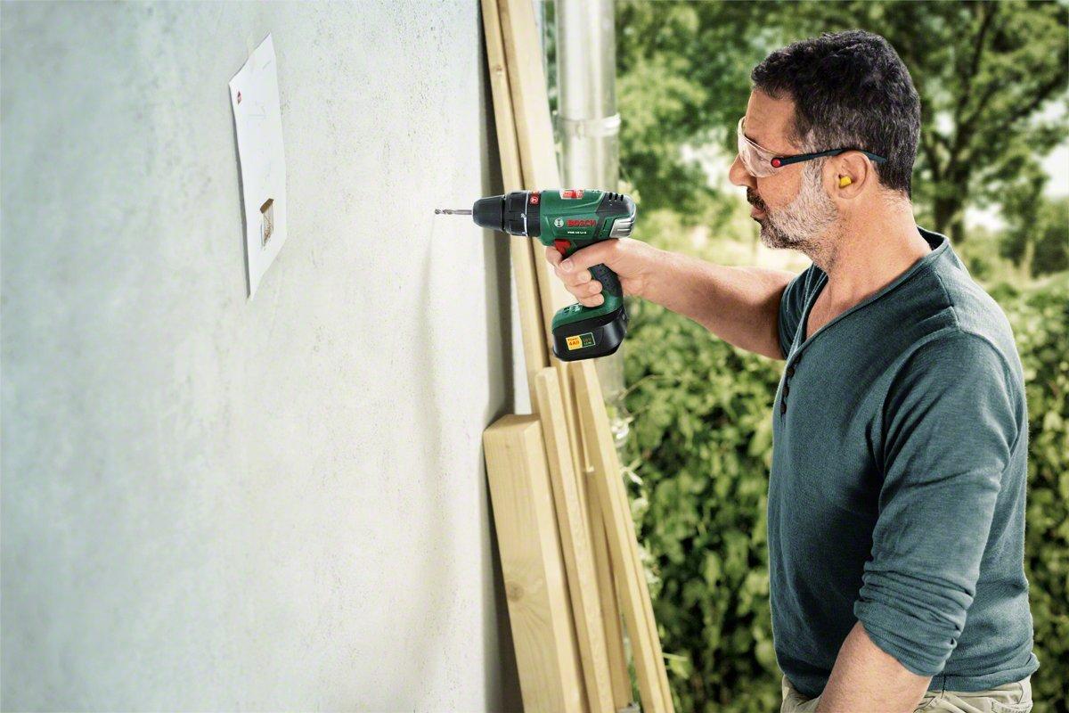 Bosch-DIY-Akku-Schlagbohrschrauber-PSB-18-LI-2-Ladegert-ohne-Akku-Doppelschrauberbit-18-V-20-Ah-Schrauben–bis-10-mm-Bohr-35-mm-in-Holz-13-mm-in-Stahl-15-mm-in-Mauerwerk