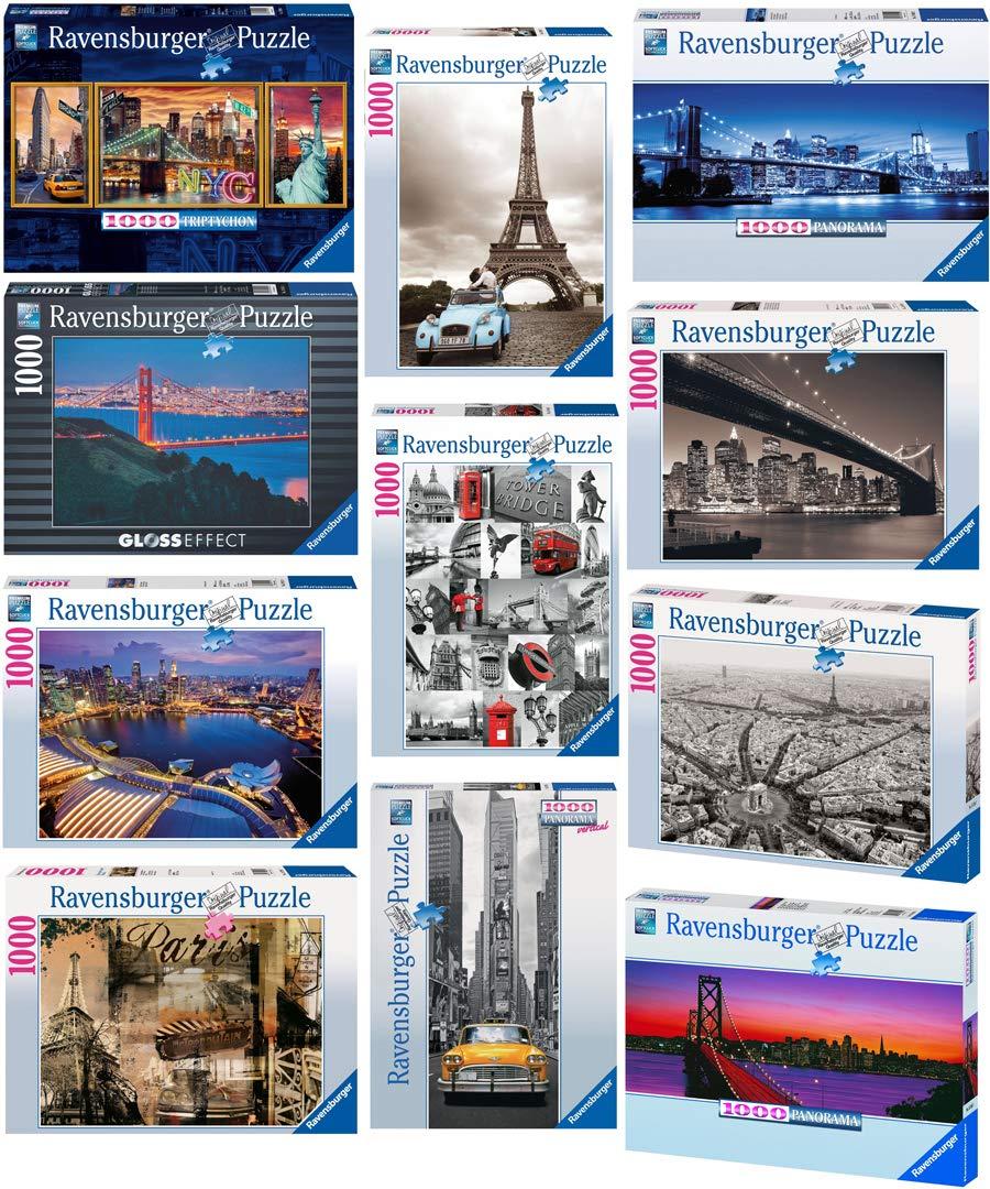 Ravensburger-Erwachsenen-Puzzle-Stdte-Metropole-Skyline-1000-oder-1200-Teile