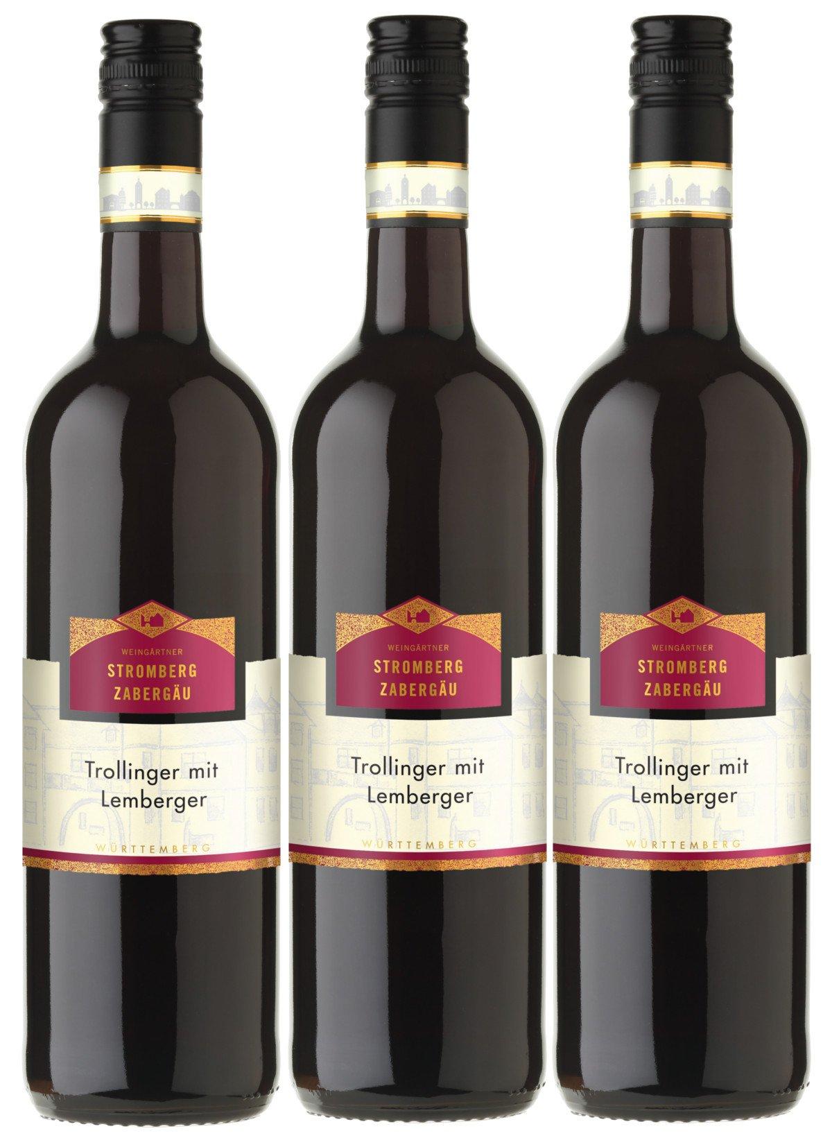 Trollinger-mit-Lemberger-StrombergZabergu-rot-halbtrocken-115-vol-3er-Paket