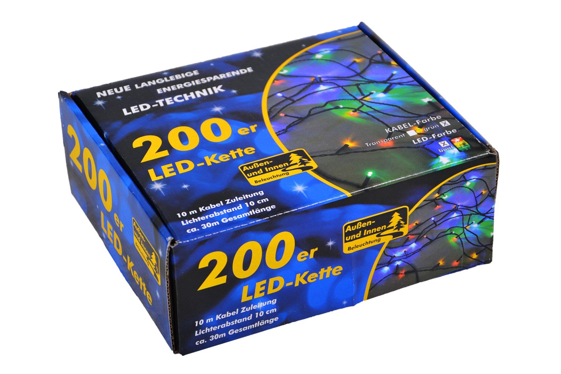 Nipach-GmbH-200er-LED-Lichterkette-Innen-und-Auen-grnes-Kabel-Weihnachtsbeleuchtung