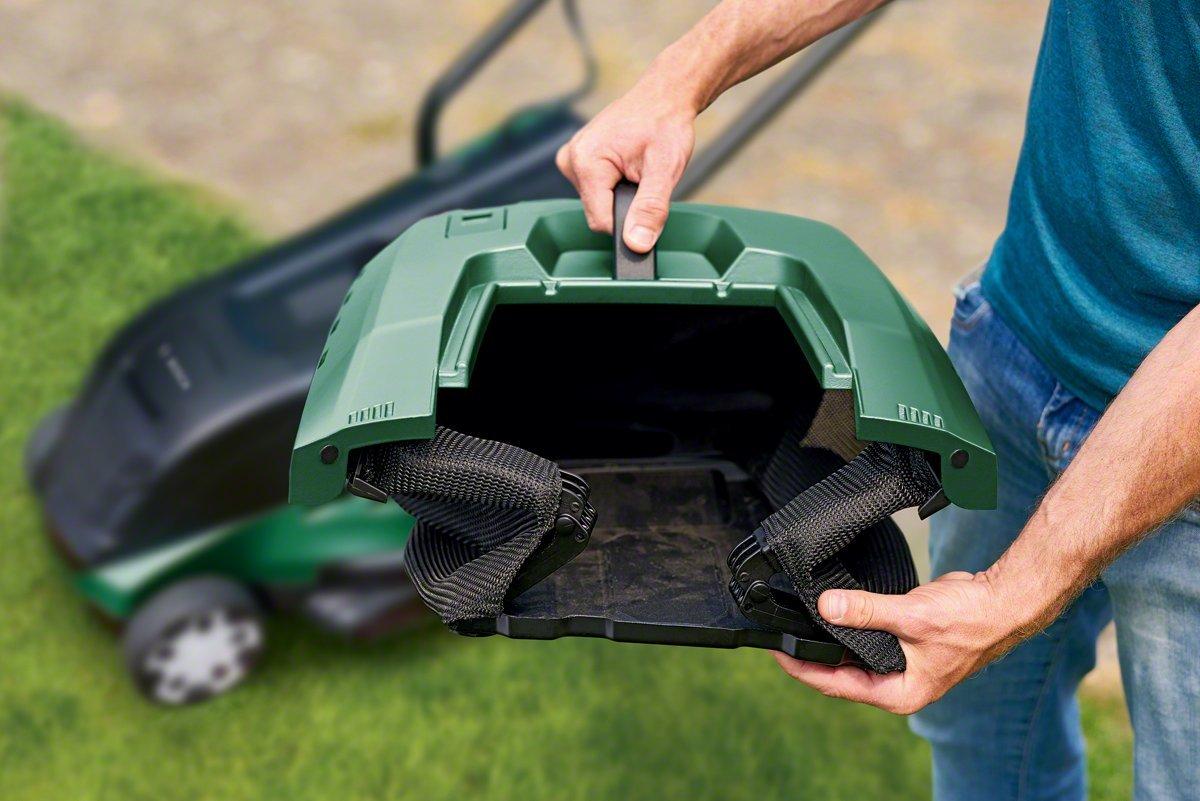 Bosch-Elektro-Rasenmher-UniversalRotak-550-Grasfangbox-40-Liter-Karton-1400-Watt-37-cm-Schnittbreite-20-70-mm-Schnitthhe