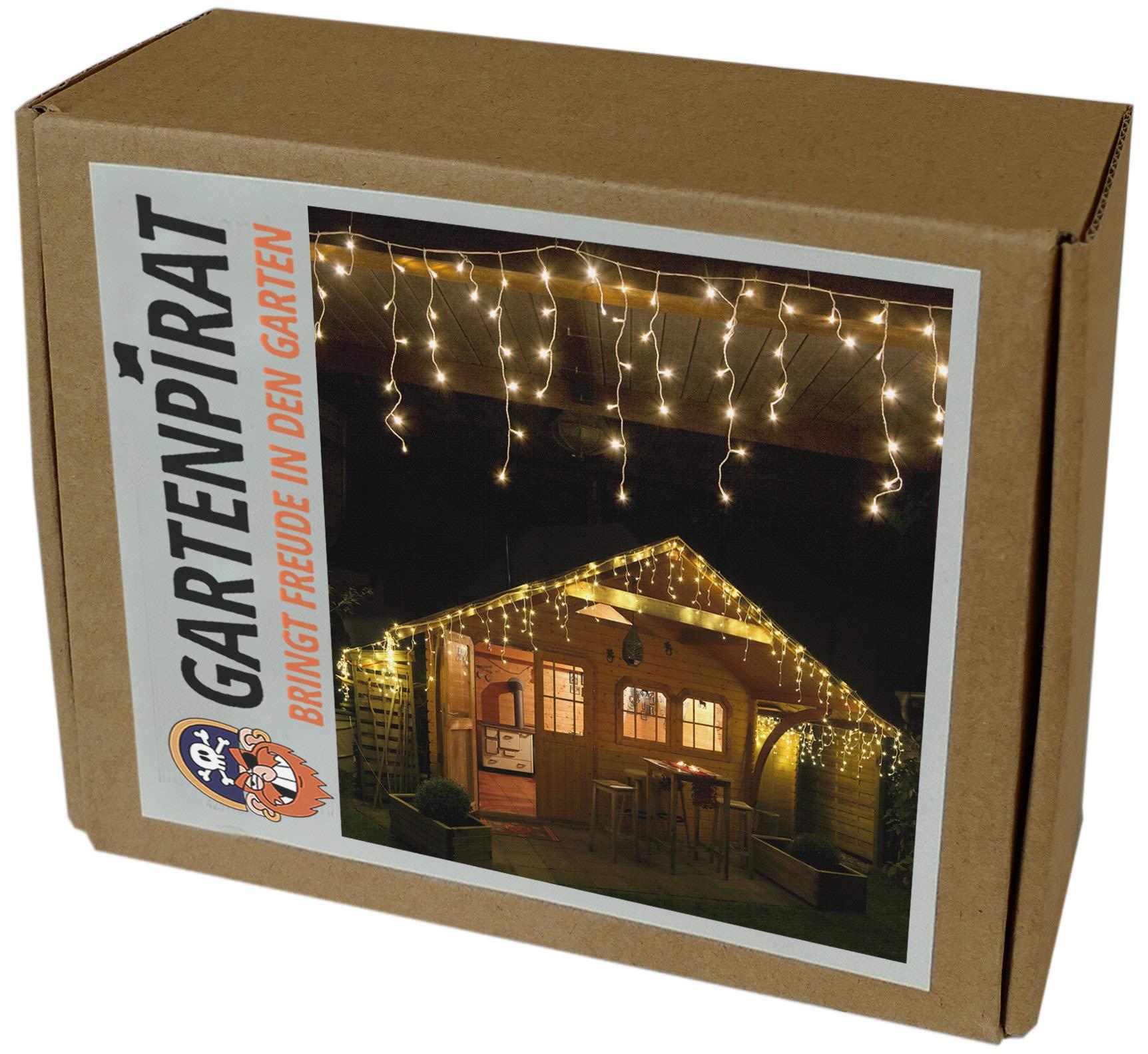 Gartenpirat-6-m-Eisregen-Lichterkette-mit-240-LED-warmwei-fr-aussen-und-innen