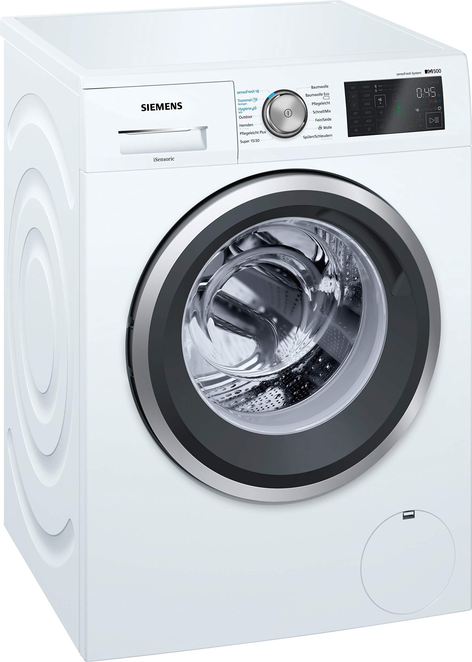 Siemens-iQ500-WM14T7A1-Waschmaschine-800-kg-A-137-kWh-1400-Umin-sensoFresh-Programm-Nachlegefunktion-Hygiene-Programm-Trommel-reinigen-Programm