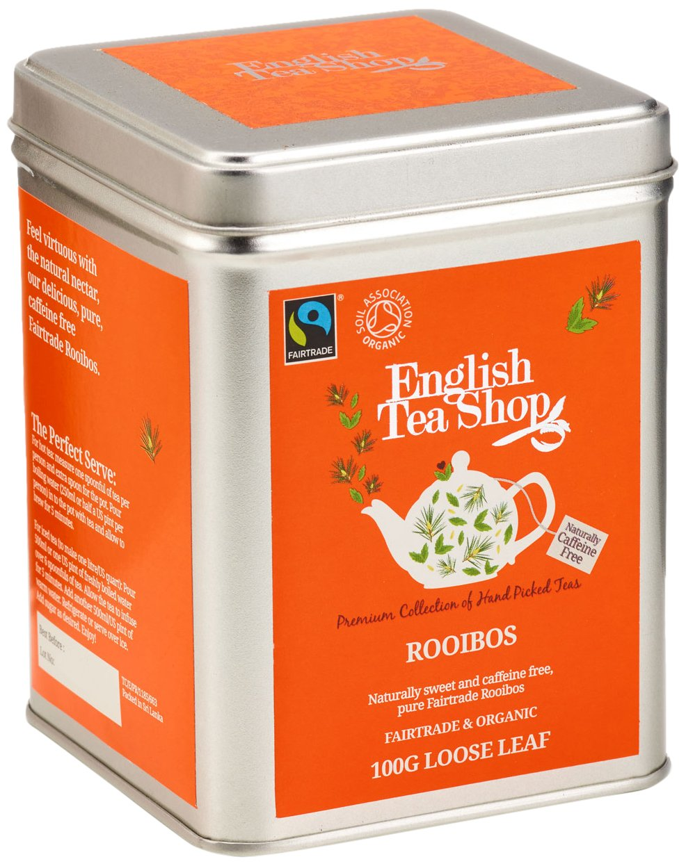 English-Tea-Shop-Rooibos-BIO-Fairtrade-Loser-Tee-100g-Dose