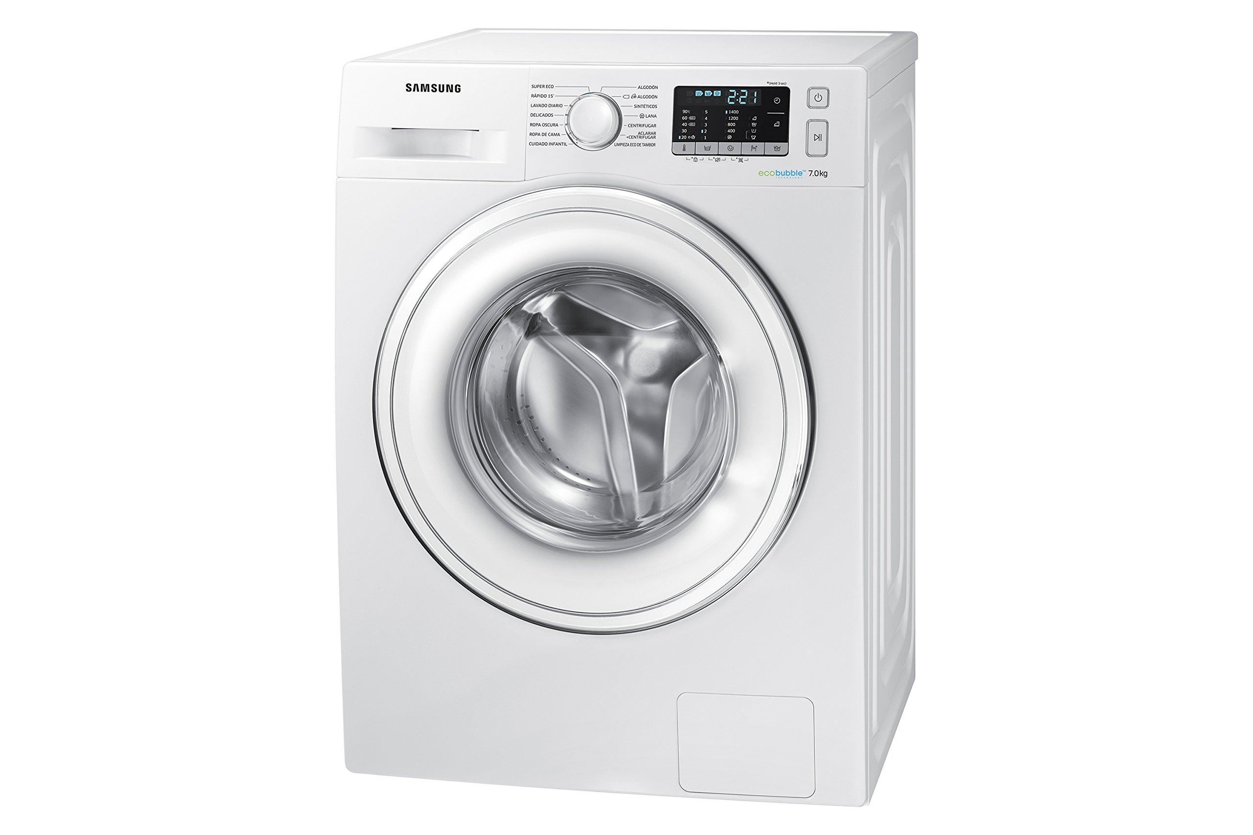 Samsung-ww70j5555dwEC-freistehend-Frontlader-7-kg-1400-Umin-A-Wei-Waschmaschine