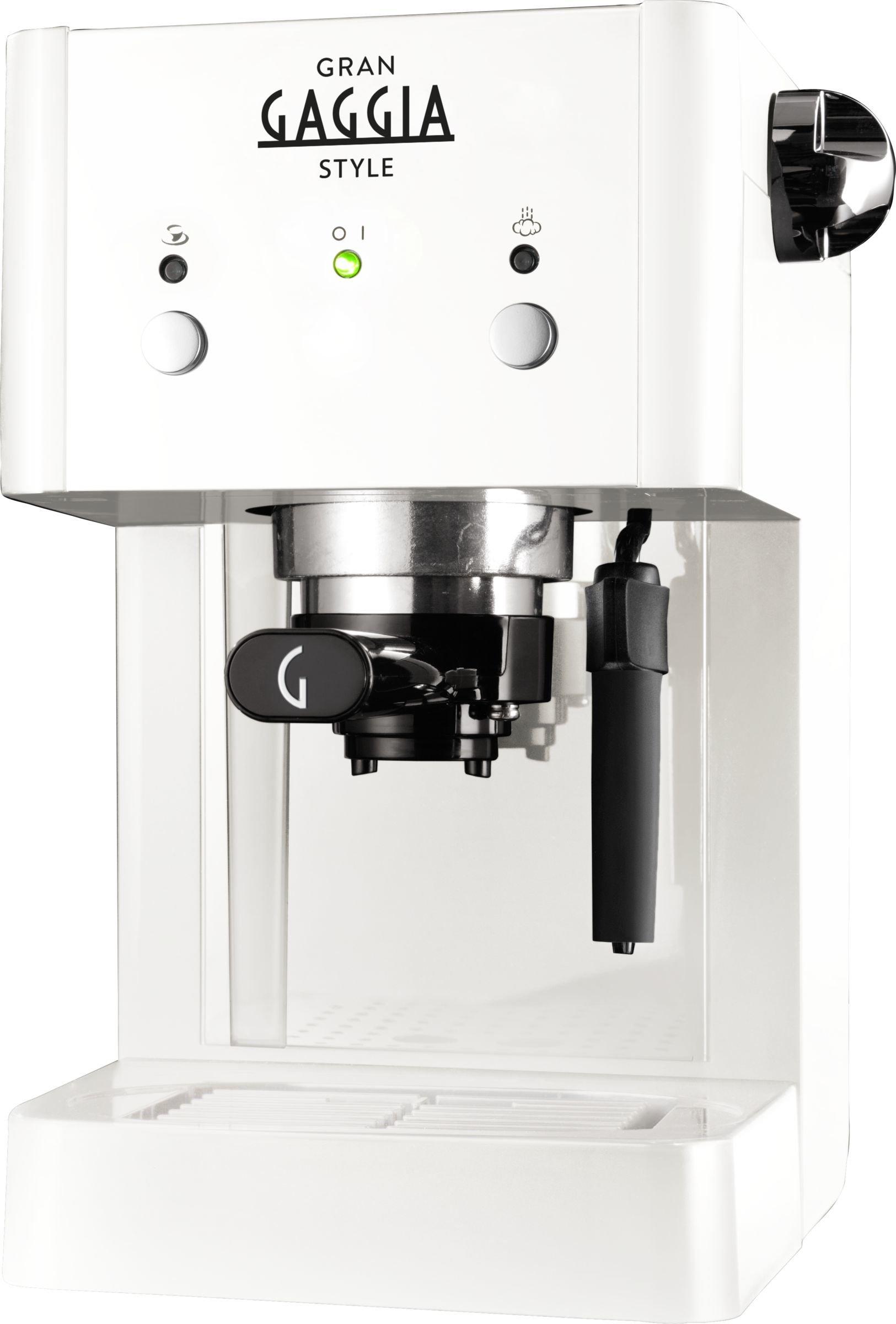Gaggia-Macchina-da-caff-manuale-RI842321-Gran-Style-Kaffeemaschine-wei