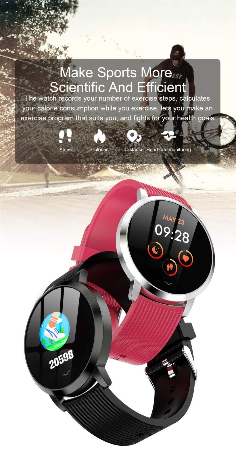 13-Zoll-Farbdisplay-Herzfrequenz-Blutdruck-Schlafberwachung-Smart-Watch-Band-Lv09-Smart-Armband-Smart-Uhr