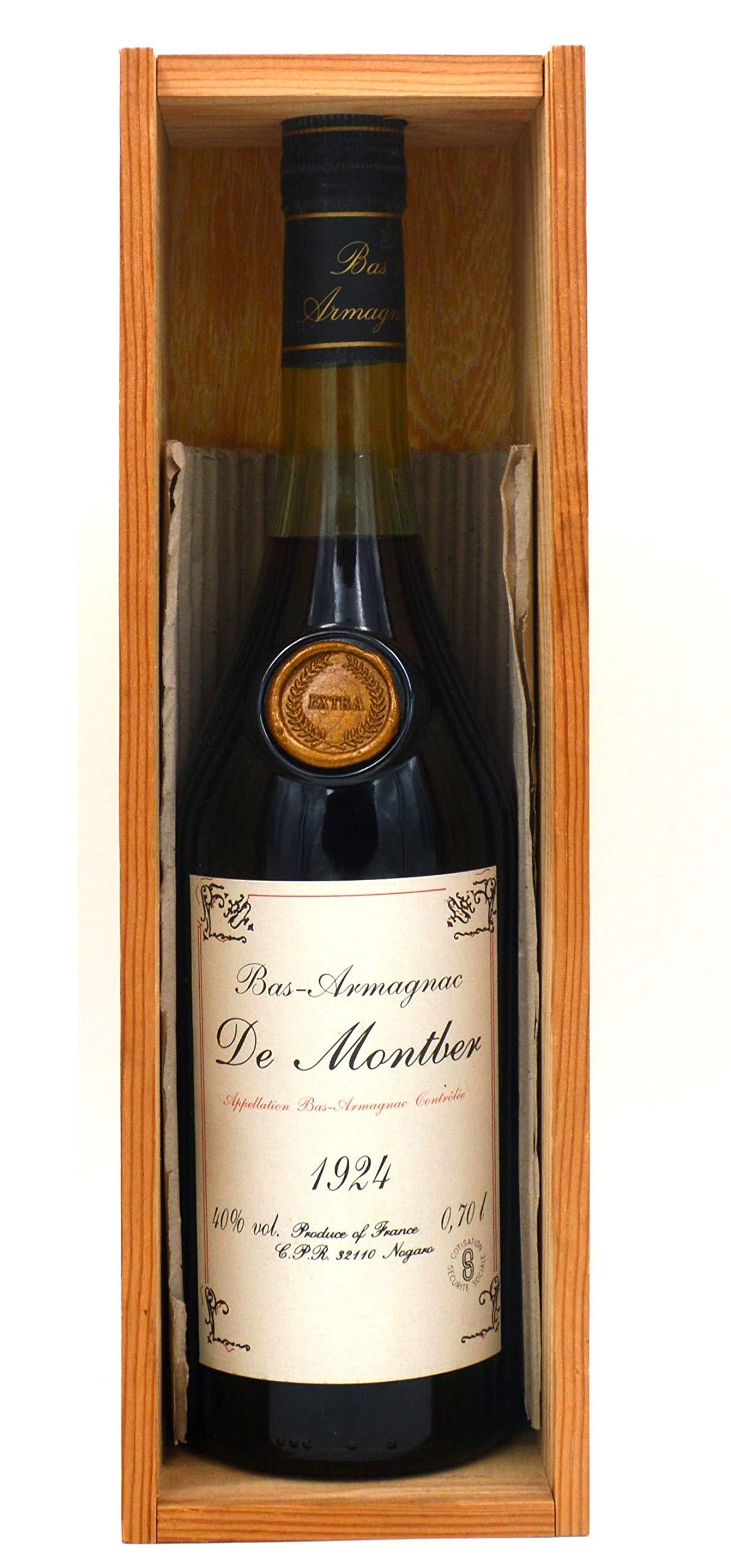 Raritt-Armagnac-De-Montber-1924-Bas-Armagnac-07l-inkl-Holzkiste