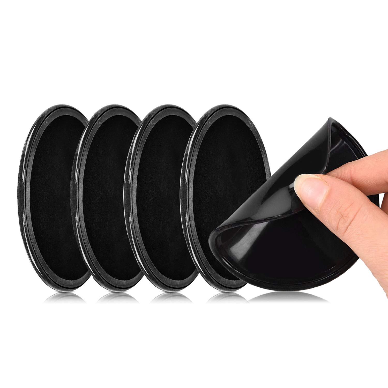 SAMENY-5-Stck-Universal-Gel-KlebepadsAnti-Rutsch-Doppelseitig-klebende-fixate-Gel-Pad-Klebepads-kleben-auf-smtlichen-Oberflchengut-fr-Armaturenbrett-und-Wandhalterung