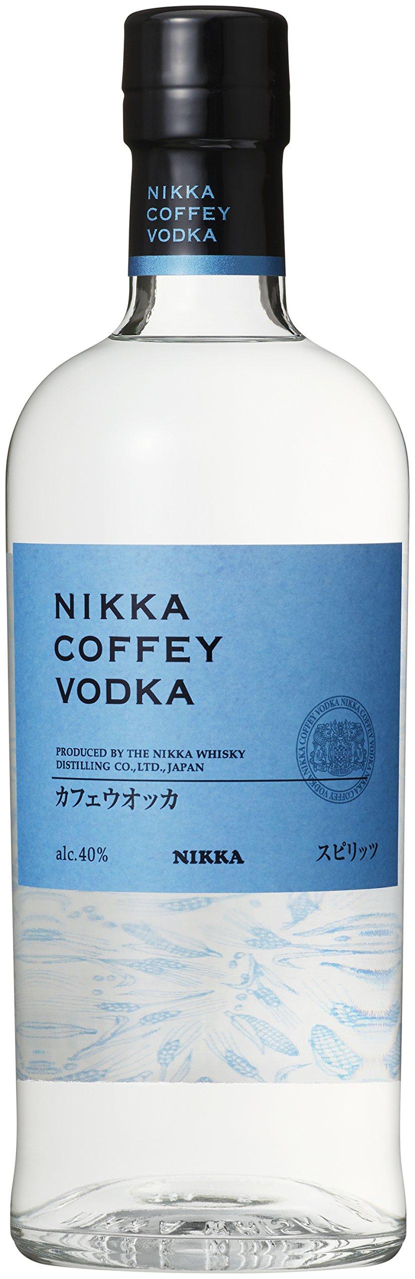 Vodka-Nikka-Coffey