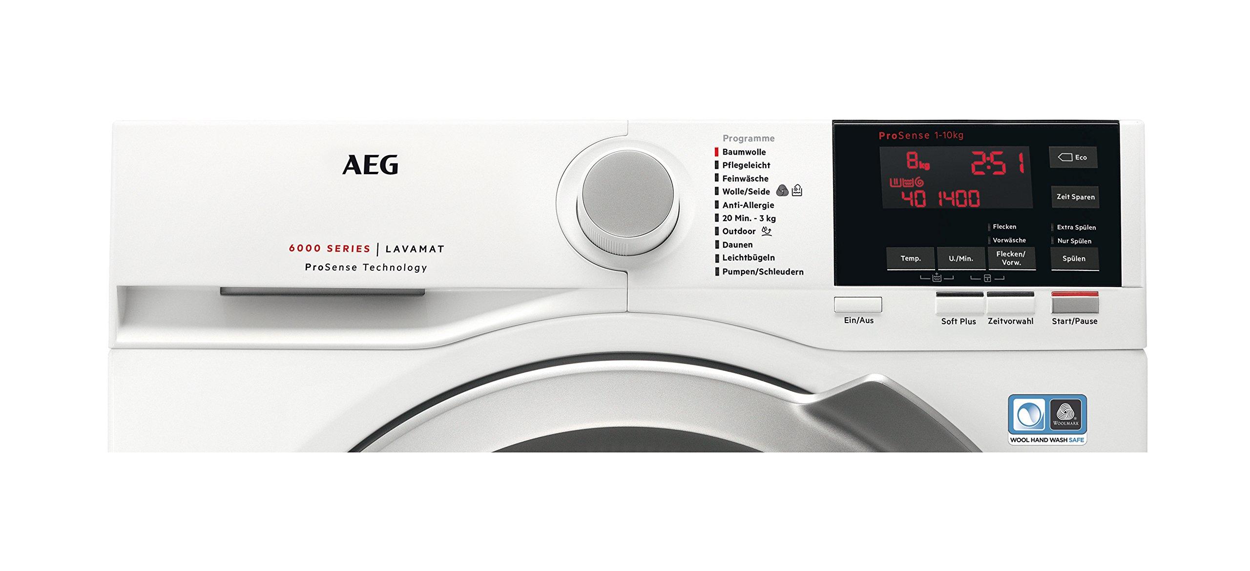 AEG-L6FB67400-Waschmaschine-FrontladerA-1400UpM-Mengenautomatikgroes-FassungsvermgenWei