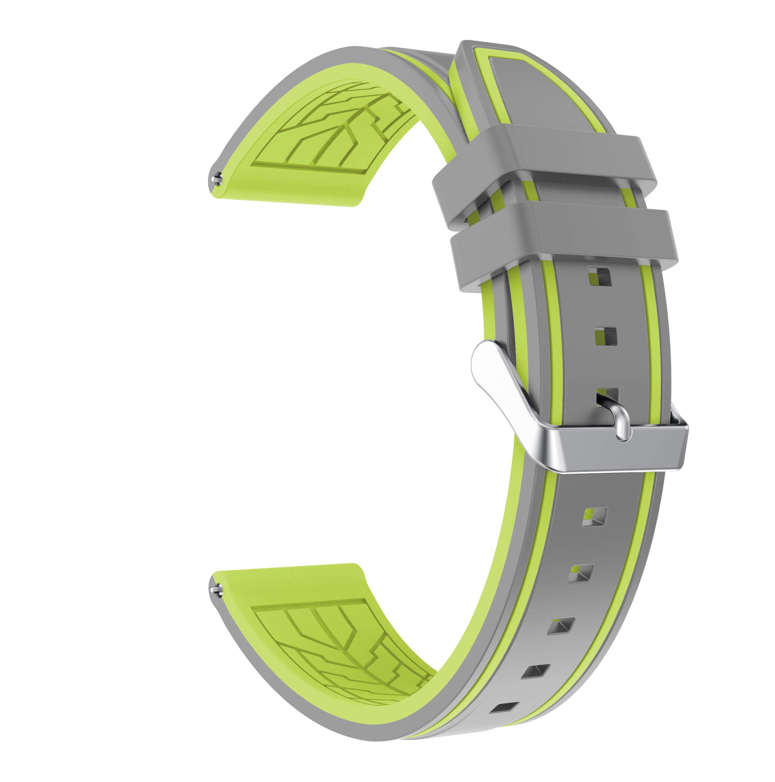 Fmway-22mm-Silikon-Uhrenband-Ersatzarmband-mit-Edelstahl-Metall-Schliee-fr-Samsung-Galaxy-Watch-46mm-Gear-S3-FrontierGear-S3-ClassicMoto-360-2-Generation-46mm-Amazfit