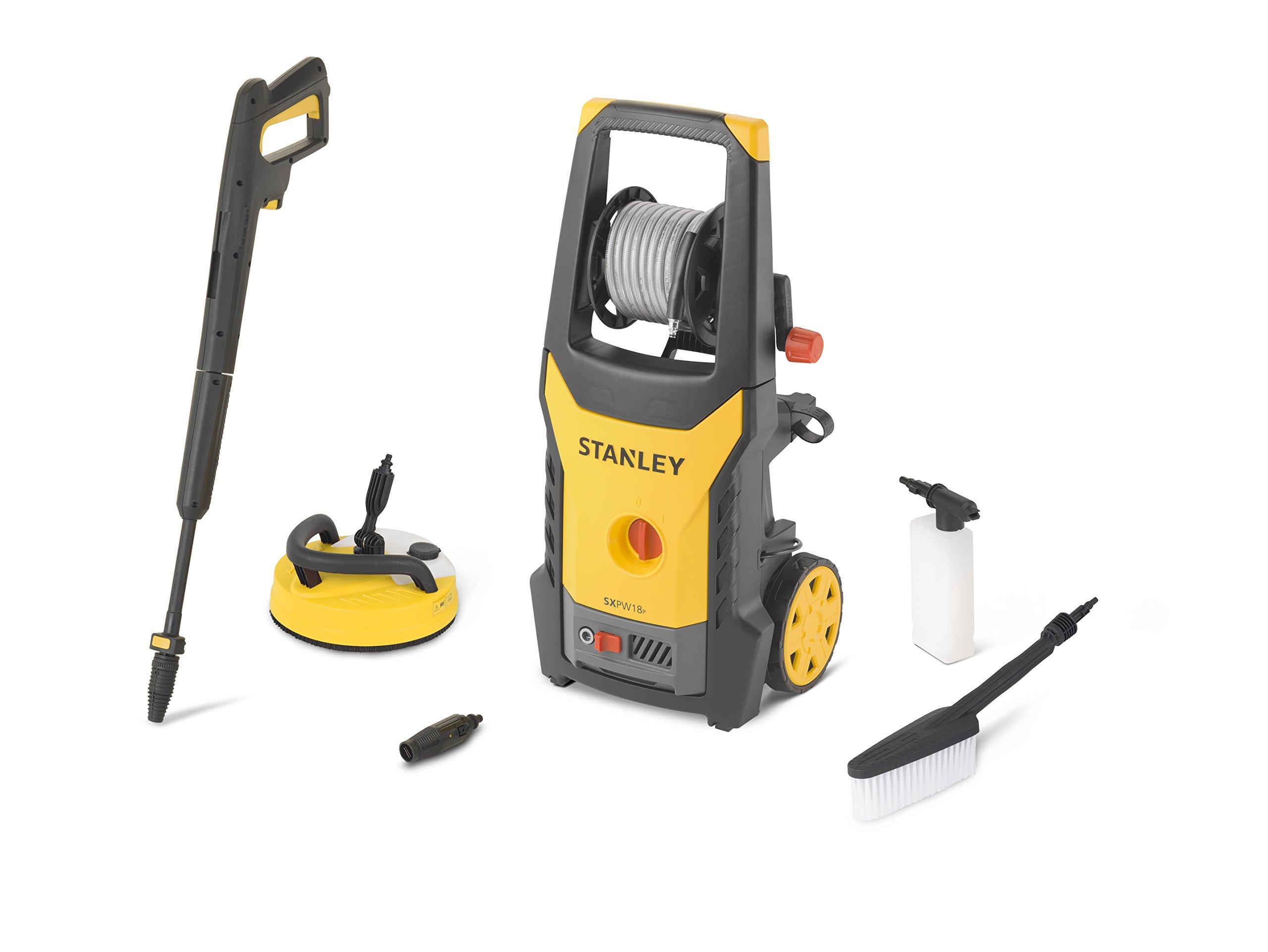 Stanley-14142–Hochdruckreiniger-1800-W-135-bar-Motor-Universal-mit-Mini-Innenhof-und-Brste-starr