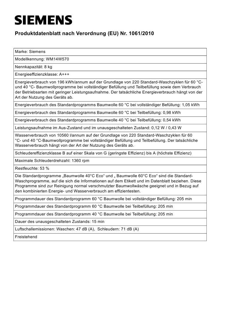 Siemens-iQ700-WM14W570-Waschmaschine-800-kg-A-196-kWh-1400-Umin-Schnellwaschprogramm-Nachlegefunktion-aquaStop-mit-lebenslanger-Garantie