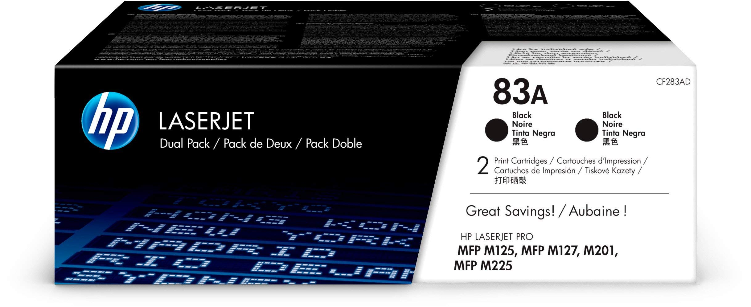 HP-83A-Schwarz-Original-Toner-fr-HP-Laserjet-Pro-M201-M225-M127-M125