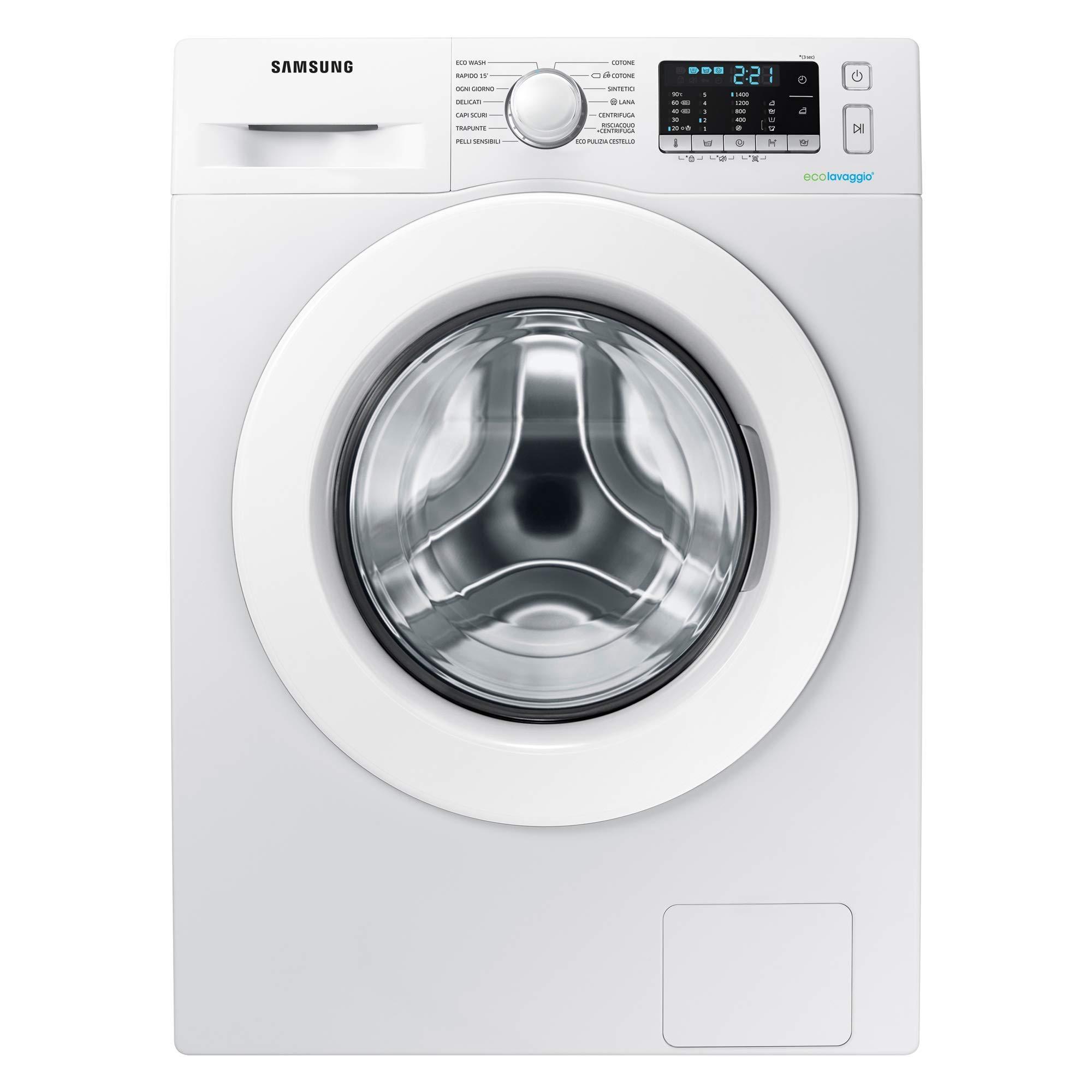 Samsung-ww80j5555mw-autonome-Belastung-Bevor-8-kg-1400trmin-A-Wei-Waschmaschine-Waschmaschinen-autonome-bevor-Belastung-wei-links-LED-Edelstahl