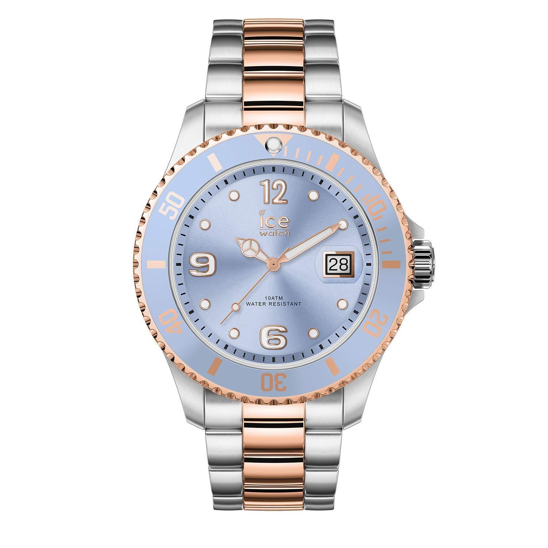 Ice-Watch-Damen-Analog-Quarz-Uhr-mit-Edelstahl-Armband-016770
