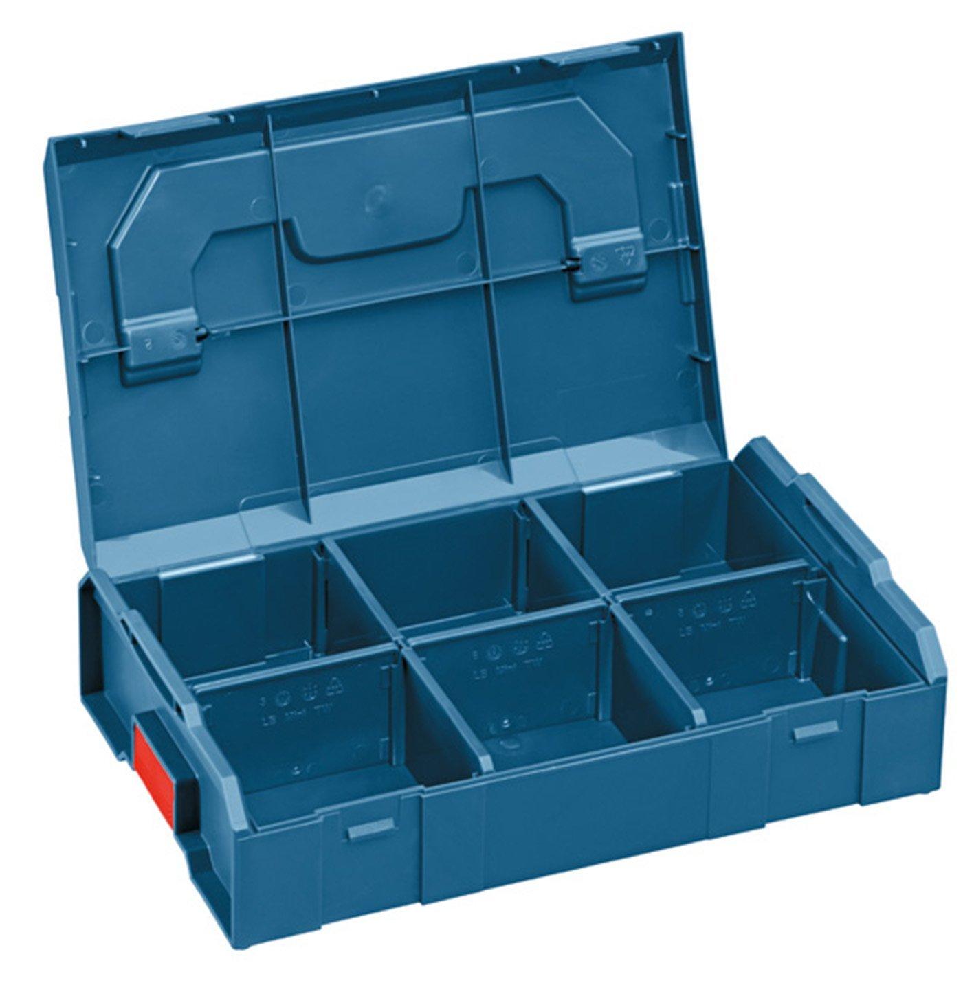 Bosch-Mini-Professional-L-BOXX-Werkzeugbehlter-26-cm-155-cm-63-cm-Schwarzblau