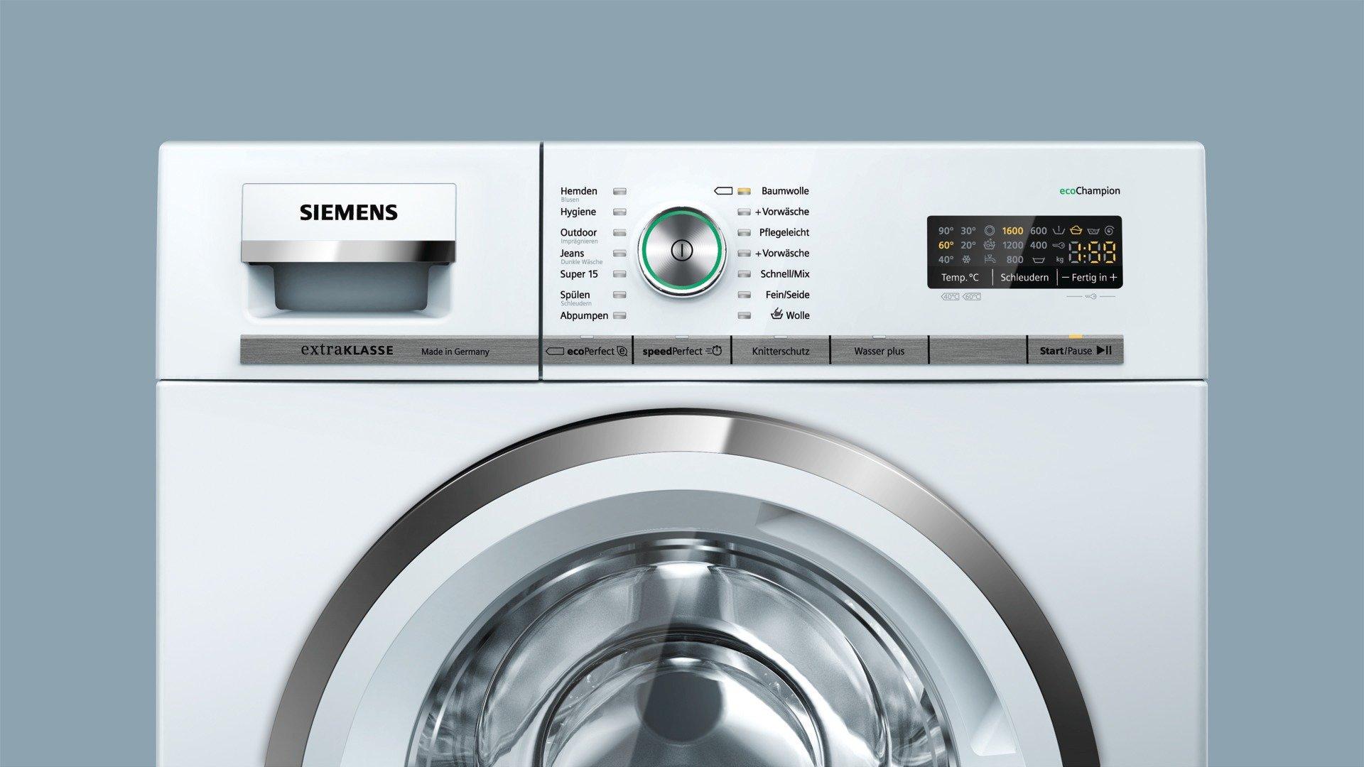 Siemens-WM16W4C1-Stand-Waschmaschine-Frontlader-wei