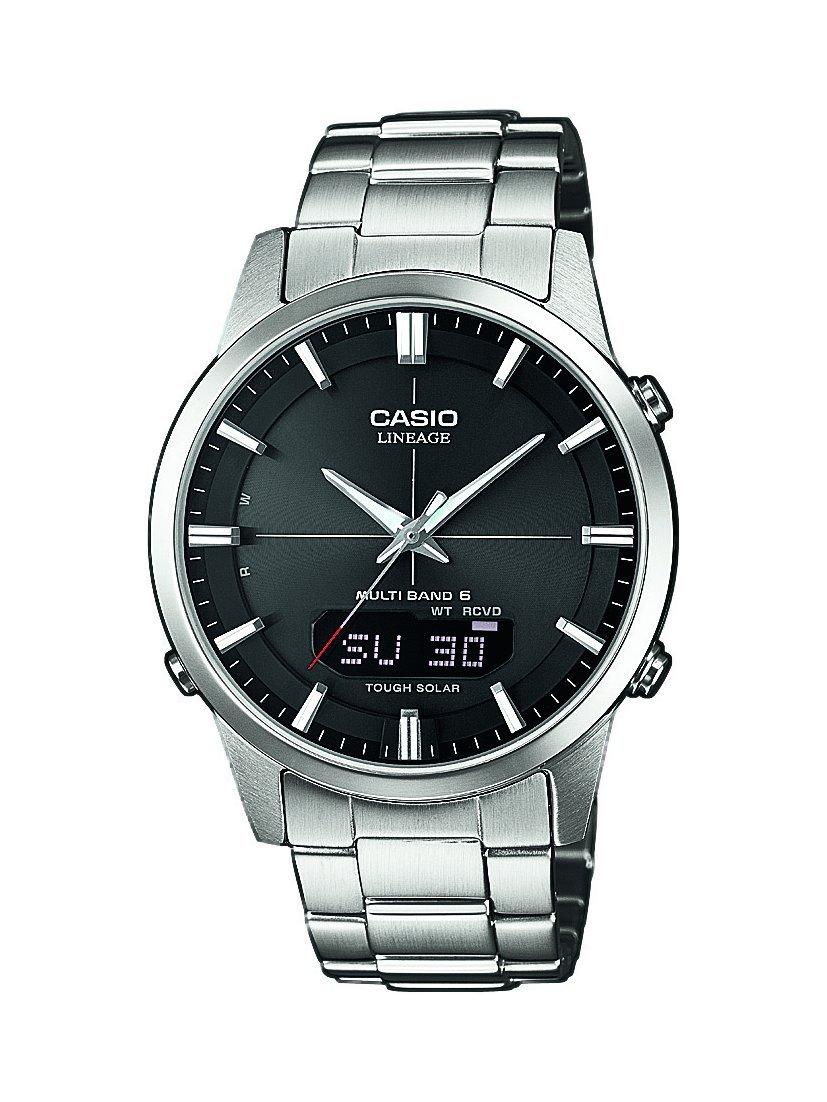 Casio-Wave-Ceptor-Herren-Armbanduhr