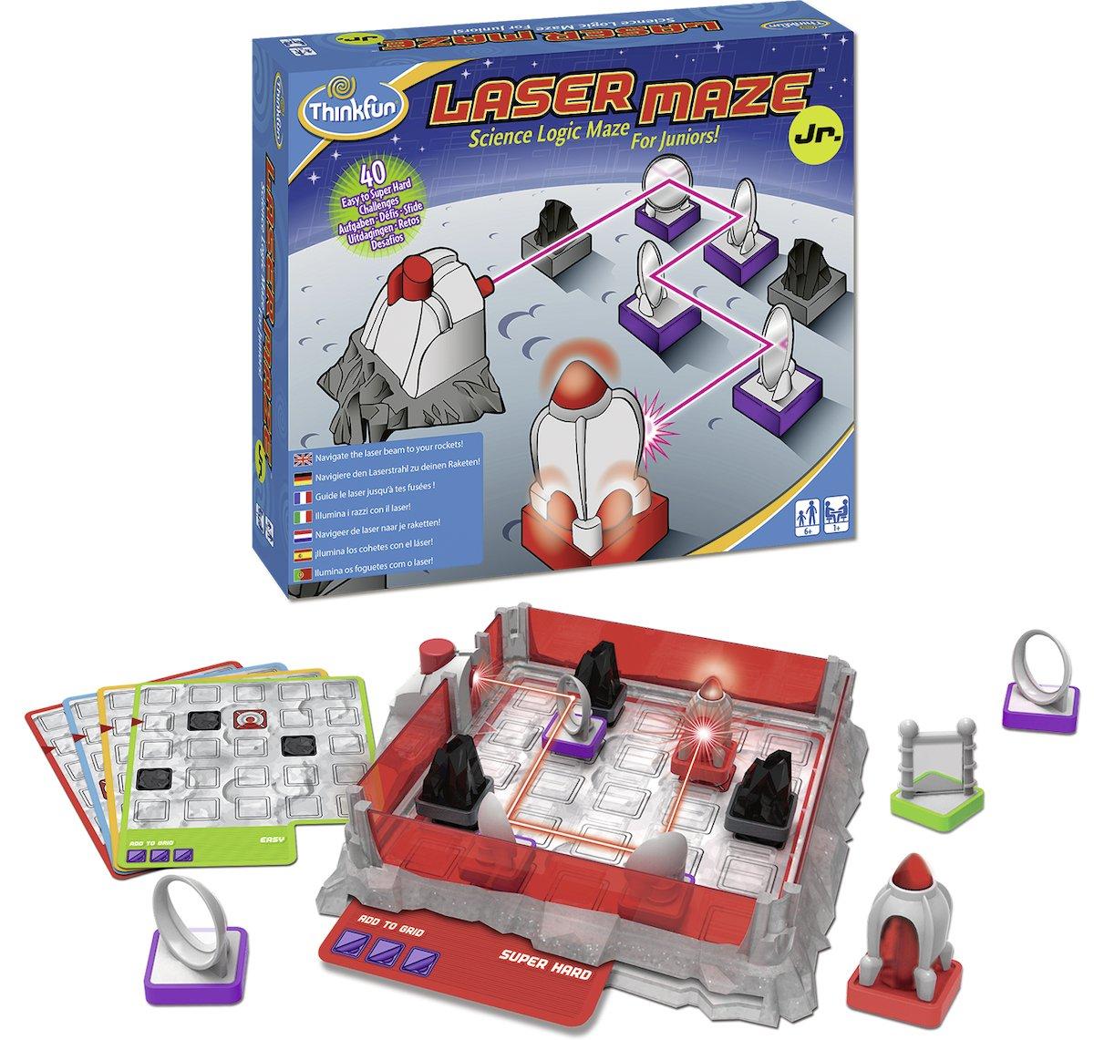 Ravensburger-76348-ThinkFun-Laser-Maze-Junior-Spiel-Smart-Game