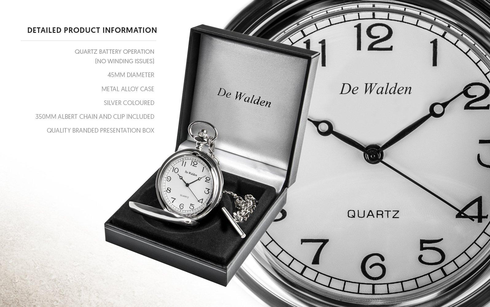 50-Hochzeitstag-Taschenuhr-Herren-Golden-50-Hochzeitstag-Geschenk