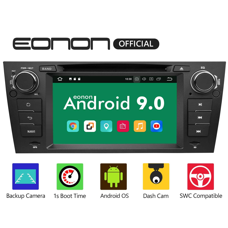 eonon-GA9365-Android-9-fit-BMW-E90-E91-E92-E93-2GB-RAM-32GB-ROM-Quad-Core-178-cm-LCD-HD-Touchscreen-DVD-GPS-Navigation-untersttzt-integrierter-Bluetooth-5-Empfnger-4G-WiFi-DAB-OBDII