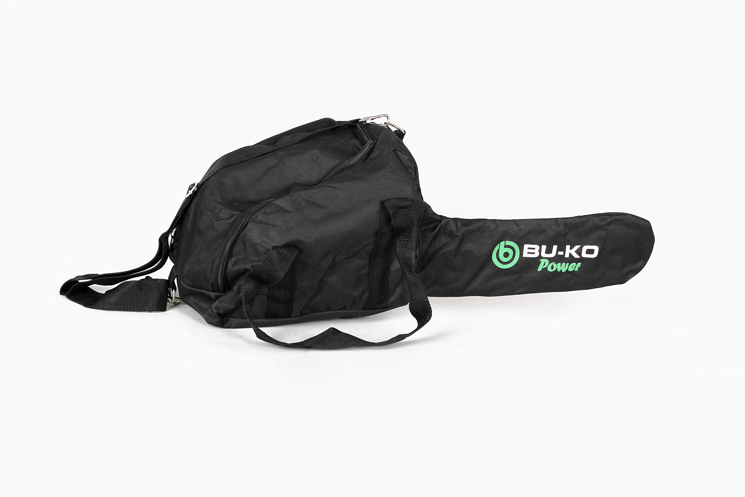 BU-KO-Leichte-Benzinkettensge-Ketten-und-Bar-inklusive-Cover-Bag-und-vollstndige-Sicherheitsausrstung