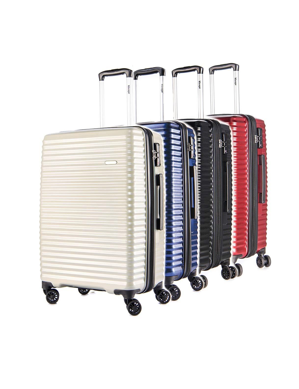 Verage-Vortex-Hartschale-Trolley-geruchsneutraler-Reisekoffer-mit-TSA-Schloss4x360-ZwillingsrollenMulti-FarbeHandgepck-S-M-Lumweltfreundlich