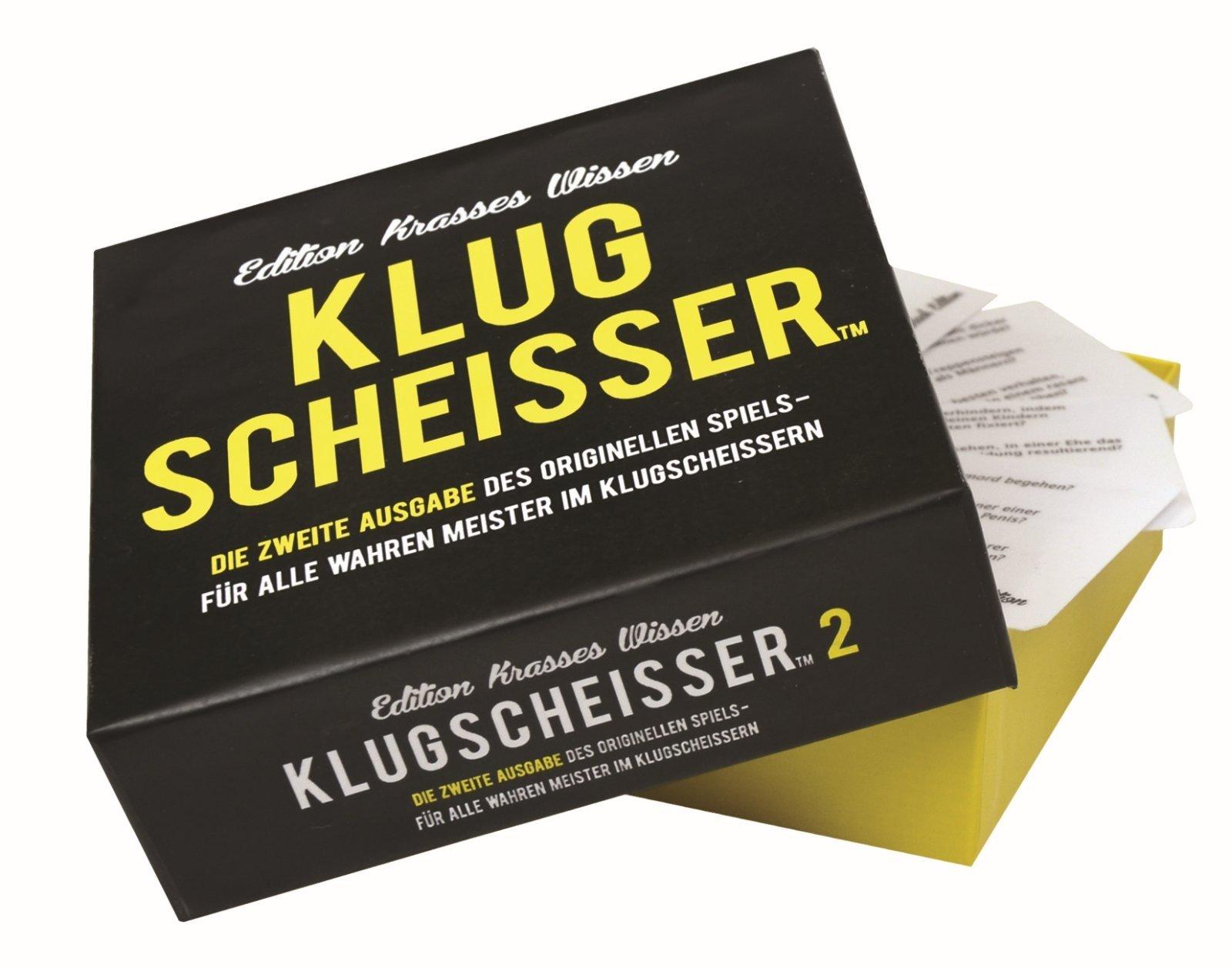 Preis-am-Stiel-Gesellschaftsspiel-Klugscheisser-2-Kartenspiel-Spieleabend-Fragen-Familie-Spiel-Kommunikationsspiele-Lustig-Mitbringspiel-Partyspiel-Ratespiel-Trinkspiel