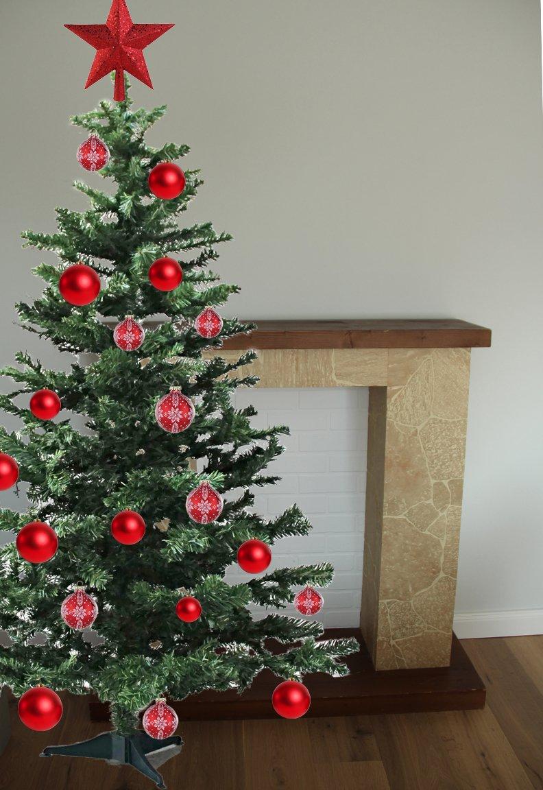 Bada-Bing-Knstlicher-Weihnachtsbaum-Grn-Beschneit-Mit-Stnder-Tannenbaum-Christbaum-Baum-180-cm-Deko-Weihnachten-Hochwertig