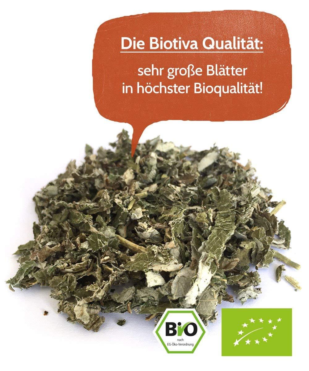 Himbeerbltter-Tee-60g-Bio-Geburtsvorbereitung-Schwangerschaft-sehr-groe-Bltter-Reicht-fr-40-Tassen-von-Hebammen-empfohlen-Abgefllt-und-kontrolliert-in-Deutschland-DE-KO-005