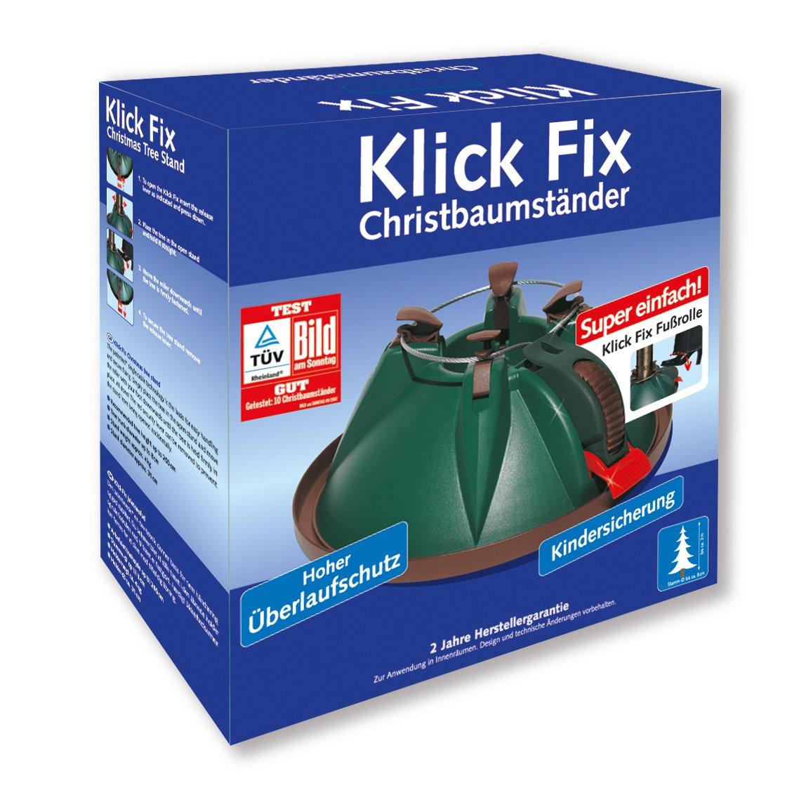 Christbaumstnder-NIKO-Klick-Fix-mit-Roll-Mechanik-und-Kindersicherung-fr-Bume-bis-200cm