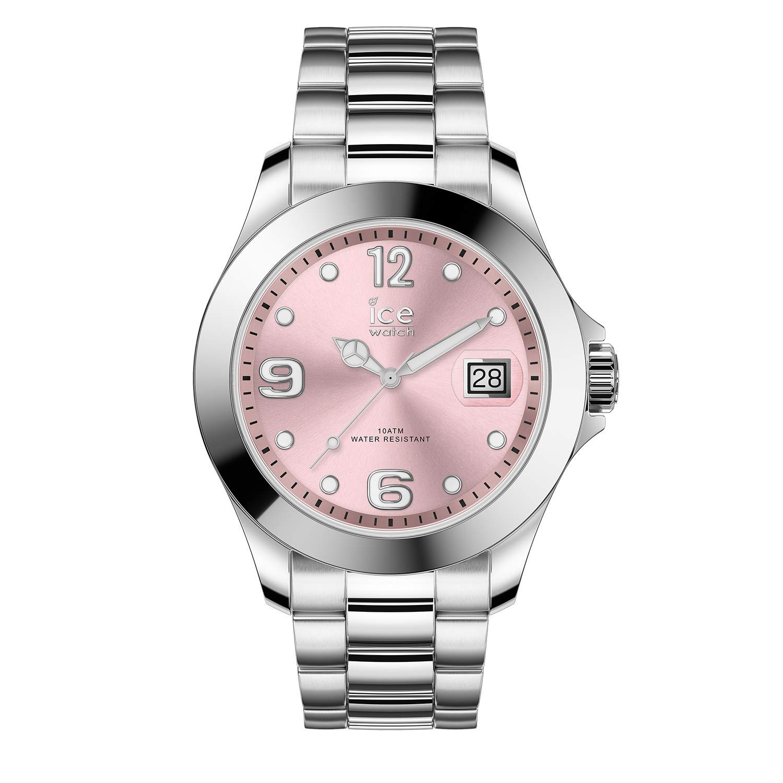 Ice-Watch-Damen-Analog-Quarz-Uhr-mit-Edelstahl-Armband-016892