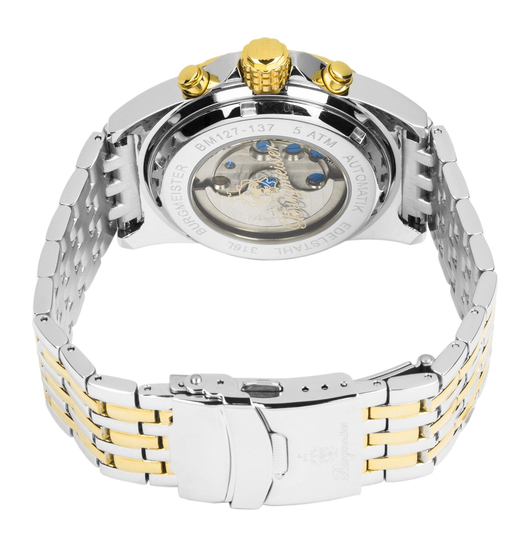 Burgmeister-Armbanduhr-fr-Herren-mit-Analog-Anzeige-Automatik-Uhr-mit-Edelstahl-Armband-Wasserdichte-Herrenuhr-mit-zeitlosem-schickem-Design-klassische-Uhr-fr-Mnner-BM127-137-Royal-Diamond